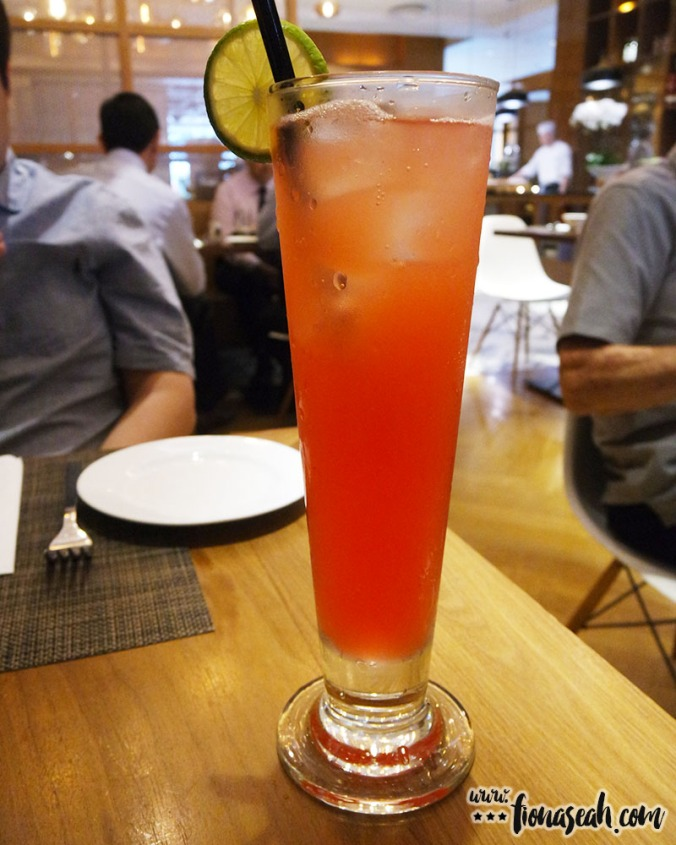 Mocktail: Shirley Temple (S$13++)