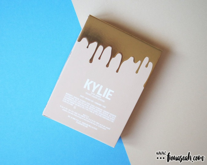Kylie Cosmetics Send Me More Nudes Velvet Liquid Lipstick (back)