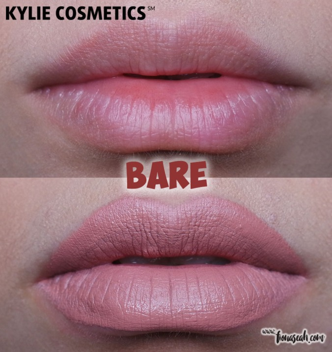Kylie Cosmetics Send Me More Nudes Velvet Liquid Lipstick - Bare
