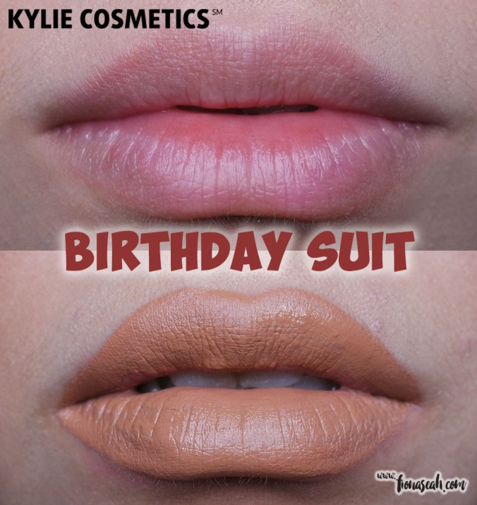 Kylie Cosmetics Send Me More Nudes Velvet Liquid Lipstick - Birthday Suit