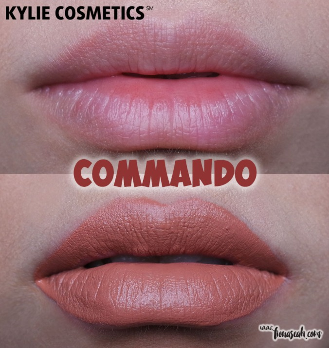 Kylie Cosmetics Send Me More Nudes Velvet Liquid Lipstick - Commando