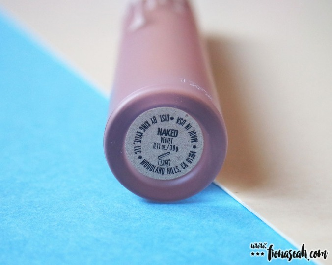 Kylie Cosmetics Send Me More Nudes Velvet Liquid Lipstick - Naked