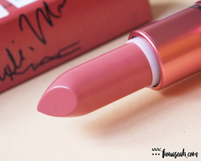 M∙A∙C × Nicki Minaj lipstick in Nicki's Nude (US$17.50 / S$33)
