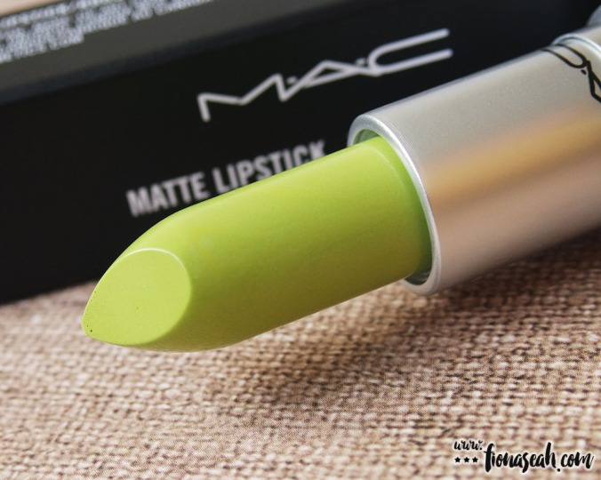 M·A·C Colour Rocker lipstick in Into The Madness (US$17 / S$33)