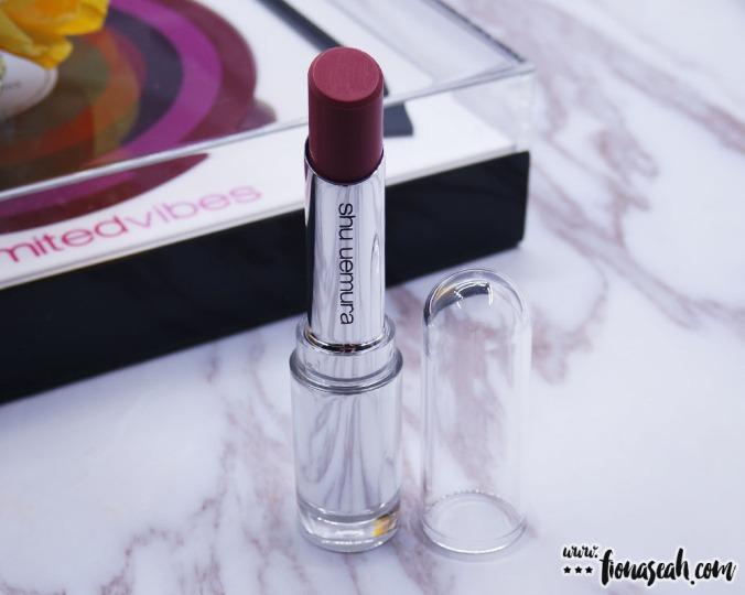 shu uemura Rouge Unlimited lipstick in BG965 (S$38)