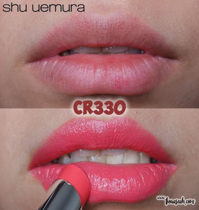 shu uemura Rouge Unlimited lipstick in CR330