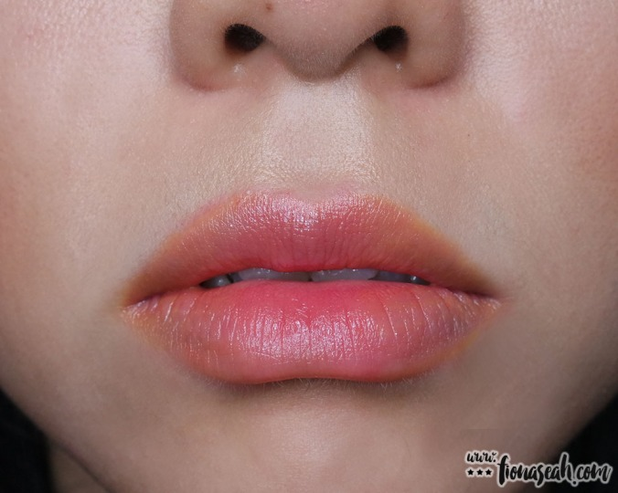 shu uemura Rouge Unlimited lipstick mix (Yellow + CR330)