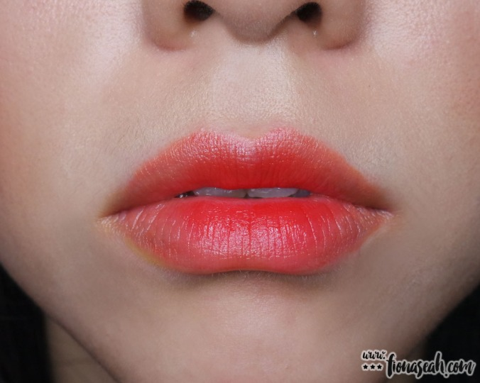 shu uemura Rouge Unlimited lipstick mix (Yellow + RD160)