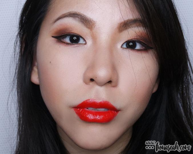 shu uemura Rouge Unlimited lipstick in RD160