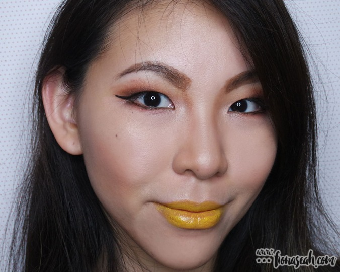 shu uemura Rouge Unlimited lipstick in Yellow