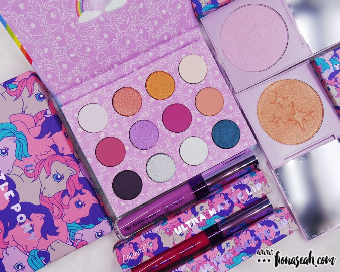 An overview of my ColourPop × My Little Pony haul - do watch this space for my review on the highlighters and liquid lipsticks!