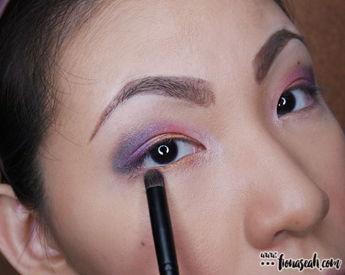 More Starshine (using Sephora Multitasker Shadow Brush #63) along the lower lash because, why not?