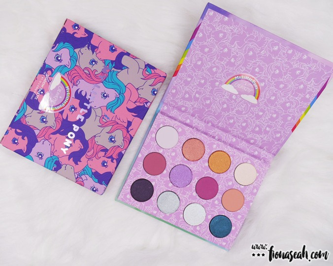 ColourPop × My Little Pony Pressed Powder Shadow Palette (US$16)