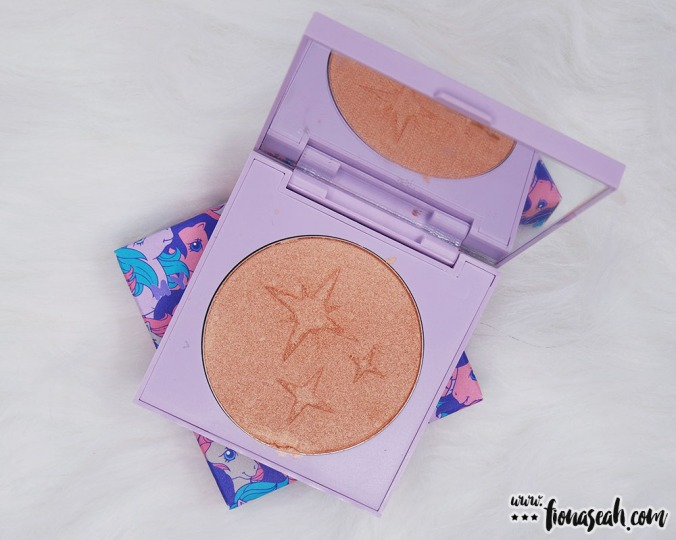 ColourPop × My Little Pony Pressed Powder Highlighter in Starflower