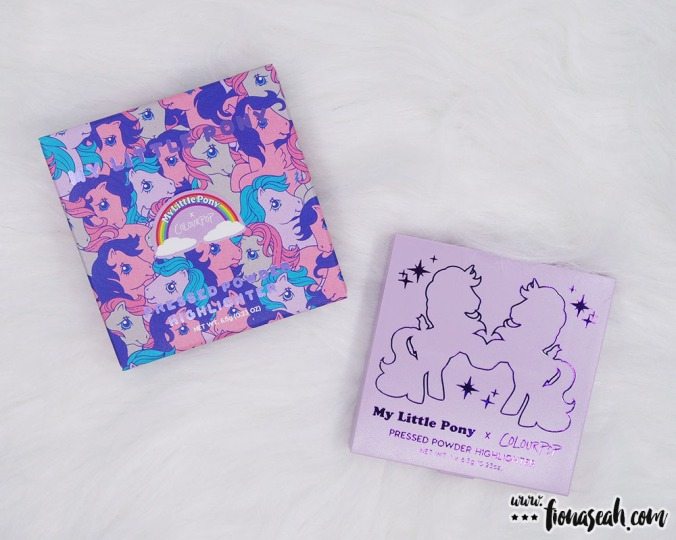ColourPop × My Little Pony Pressed Powder Highlighter in Starflower (US$8)