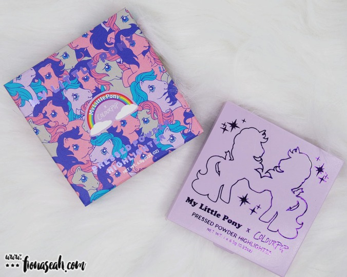 ColourPop × My Little Pony Pressed Powder Highlighter in Trickles (US$8)
