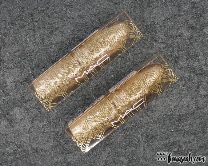 M·A·C Snow Ball lipsticks packaging