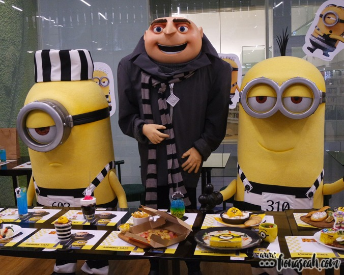 Gru and Minions make a special appearance at the media preview!