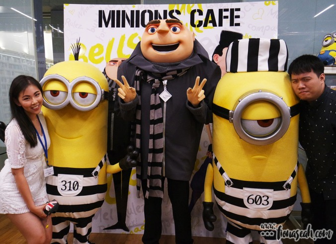 Find out when Gru and Minions will make another appearance on The Guest Cafe Singapore Facebook page!