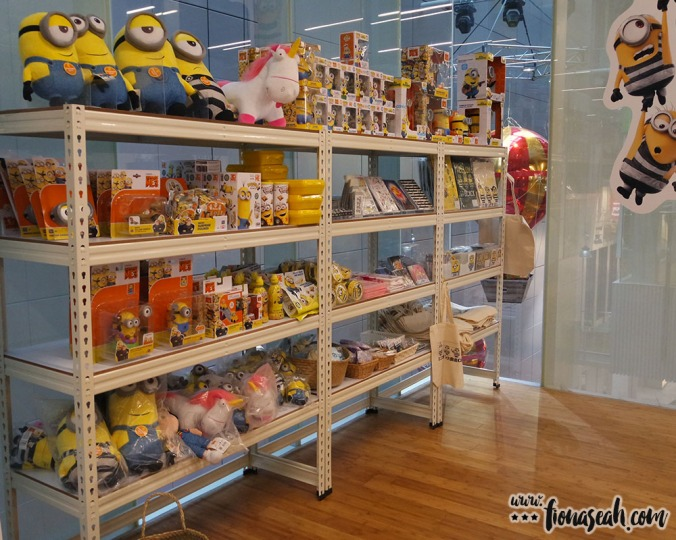 Minion-inspired toys, snacks and stationery found here!