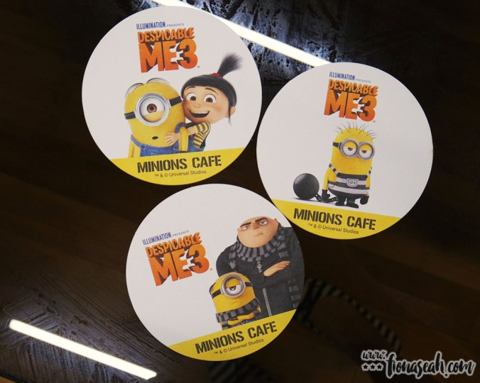 Free limited edition original coaster with any order from the drink menu but you