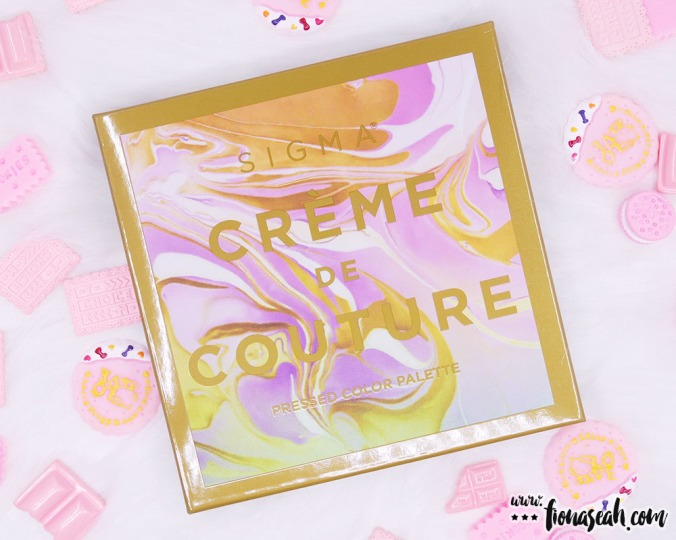 Sigma Beauty Creme de Couture Pressed Color Palette (box)