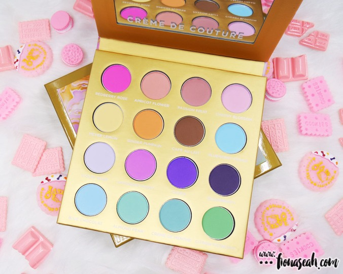 Sigma Beauty Creme de Couture Pressed Color Palette
