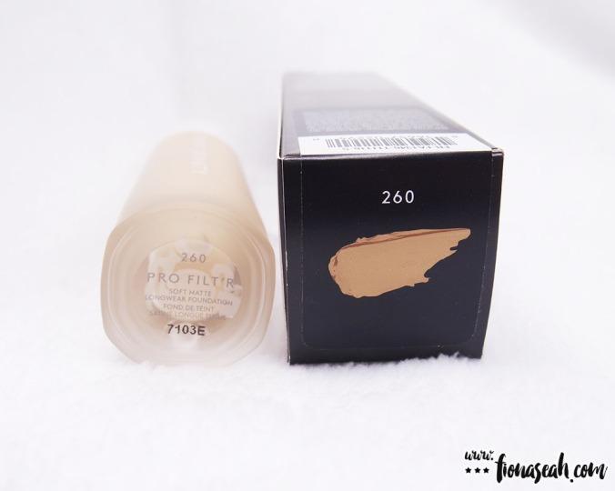 Fenty Beauty Pro Filtr Soft Matte Longwear Foundation in 260