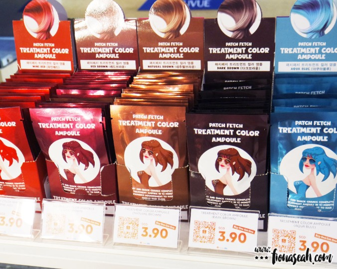 I guess.. these are hair dyes? Buy one get one free!