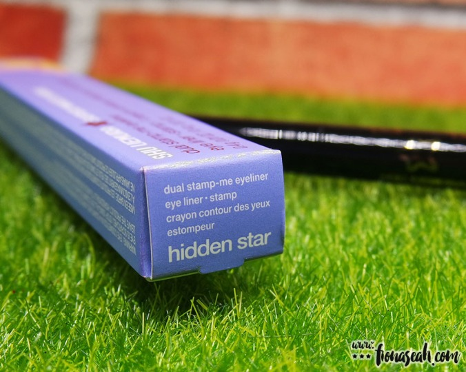 "It's not stated on the website, but I suppose ""Hidden Star"" is the name of the shade"