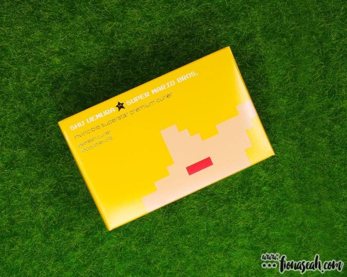 shu uemura × Super Mario Bros Invincible Superstar Premium Curler (S$30)