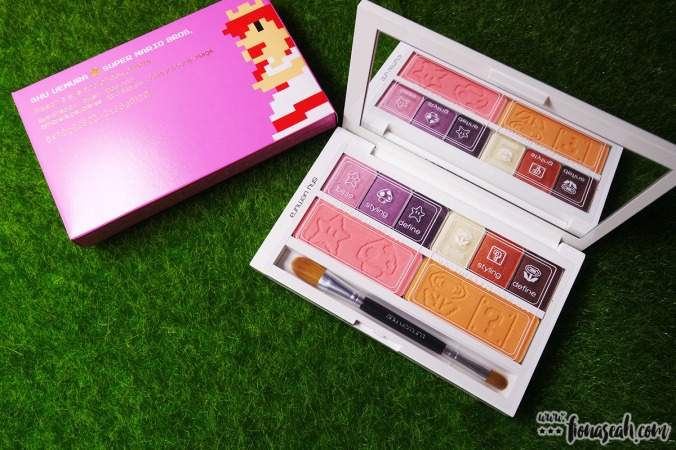 shu uemura × Super Mario Bros Peach's Eye & Cheek Palette