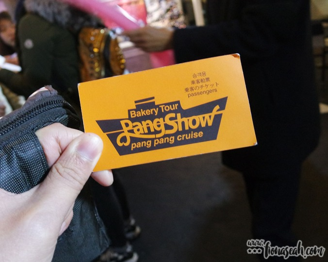 The ticket to the Pang Show!