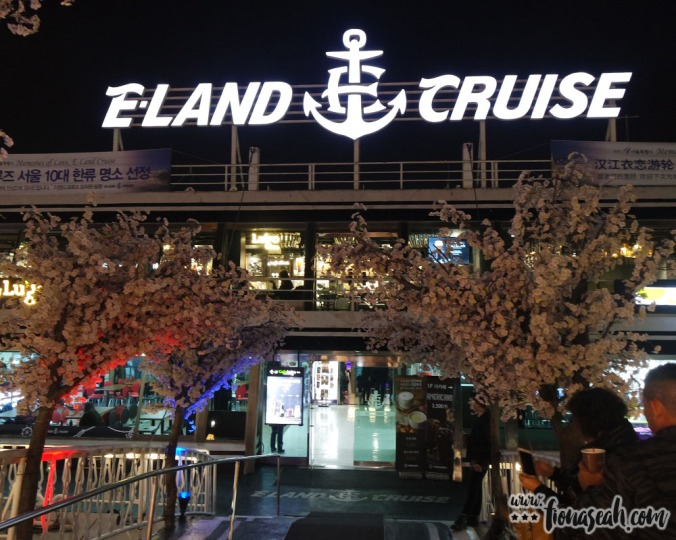 The entrance to Eland Cruise ferry dock