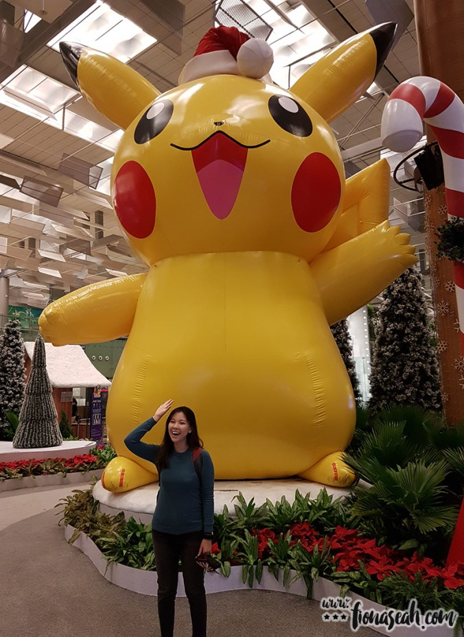 The gigantic Pikachu that has been making its rounds in Singapore - its last appearance was at Hillion Mall in December!
