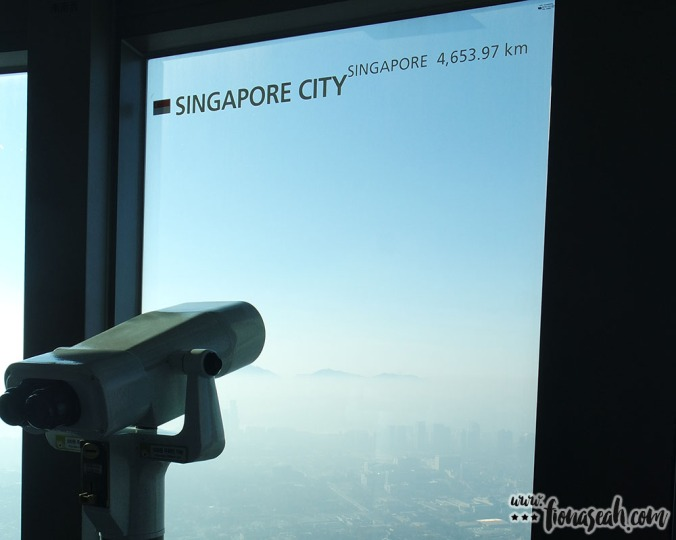 Mandatory shot as a Singaporean!