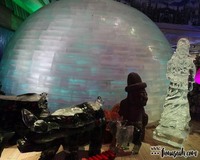 Icy globe