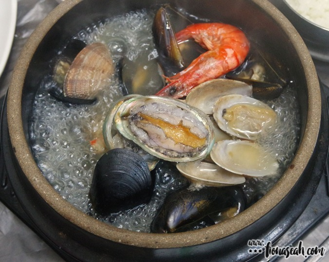 Seafood/clams stew (jogaetang) - hands down the best dish of the whole Korea trip!
