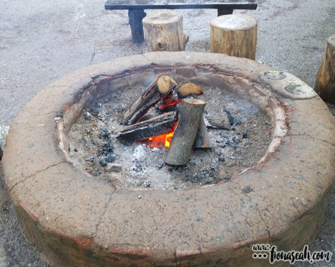 Fireplaces like this can be found in various parts of Nami Island. While others used them to warm their hands, I tried to dry my shoes above them (which obviously didn't work lol)