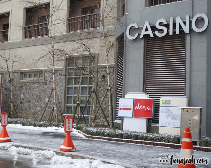 The casino is no longer in operation