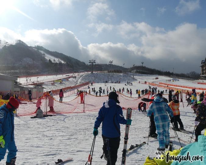 Time to ski!