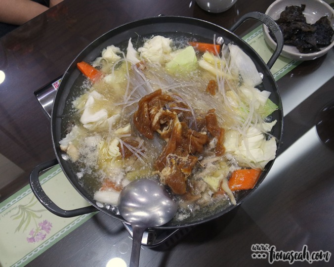 What we ate for dinner - beoseot jeongol