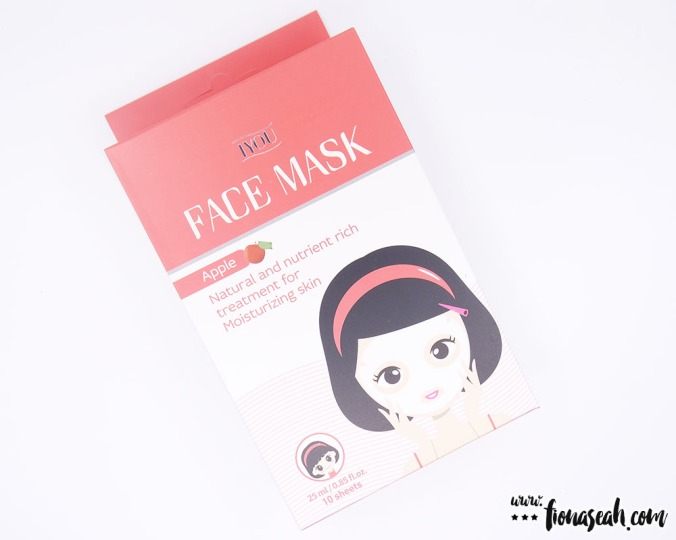 IYOU Apple Face Mask (10 × 25ml / 0.85 fl.oz)