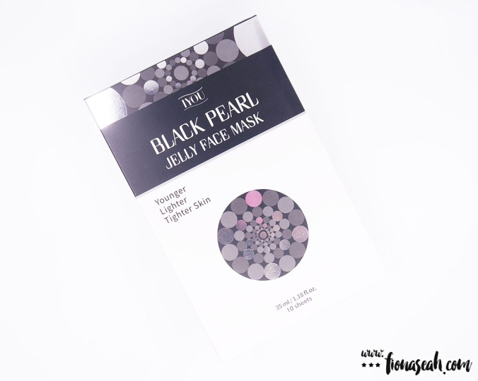 IYOU Black Pearl Jelly Face Mask (10 × 35ml / 1.18 fl.oz)