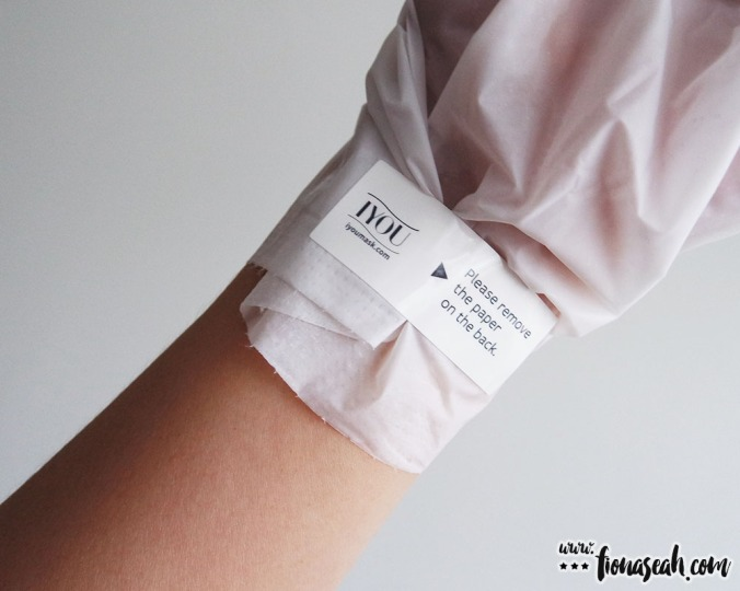 "IYOU Hand Gloves - tighten it with the plastic flap (or ""sticker"", as IYOU calls it)"
