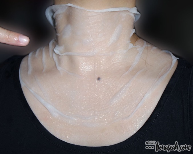 IYOU Neck & Collarbone Sheet (application)