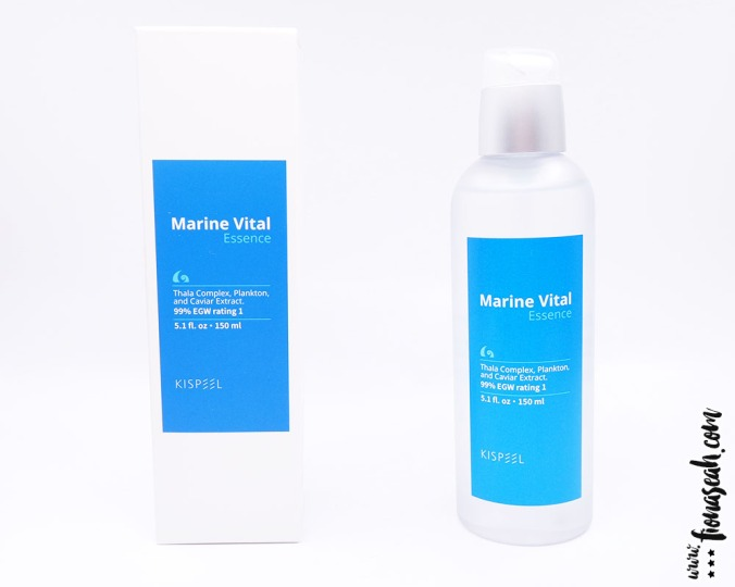 KISpeel Marine Vital Essence // 150ml / 5.1 fl.oz (S$26.90)