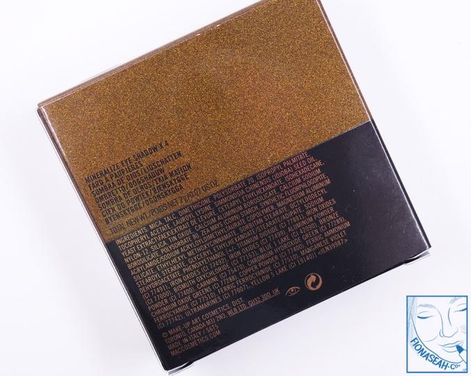 M·A·C× Jade Jagger Mineralize Eye Shadow X 4 in Golden Shine