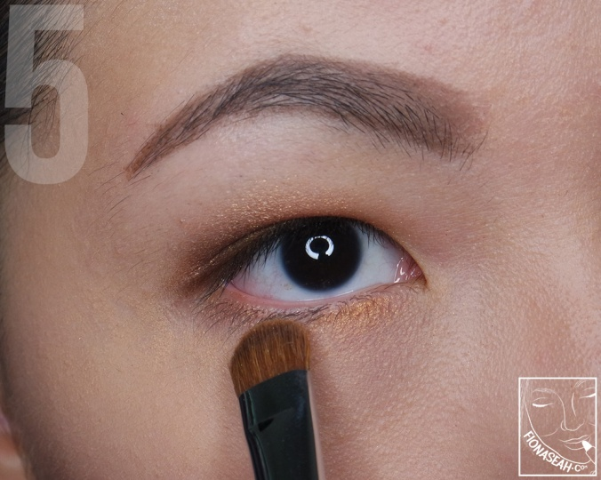 Apply bright copper to the waterline