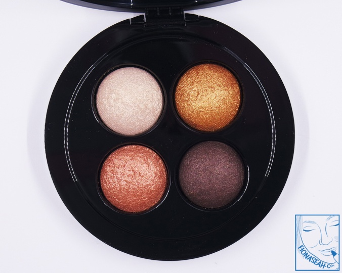 M·A·C × Jade Jagger Mineralize Eye Shadow X 4 in Golden Shine